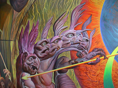 Ernst Fuchs Visionary Hall Of Fame